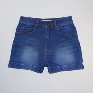 "Bullhead Denim Co ""Mom Short"" size 3 jr"